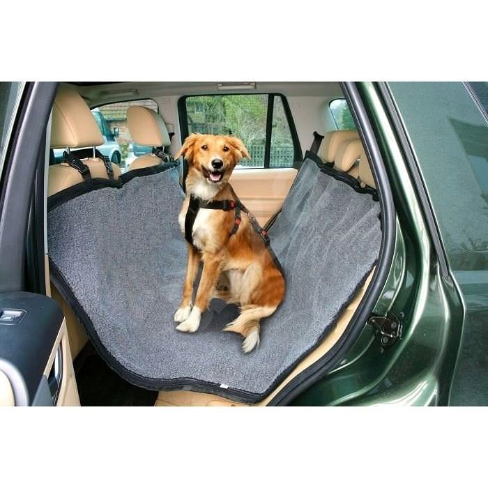 Karlie-Flamingo Travel Car Cover, Black, 150 x 145cm - Dog Car Seat Cover