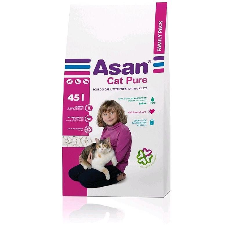 Asan Cat Pure Family 45l - Cat litter