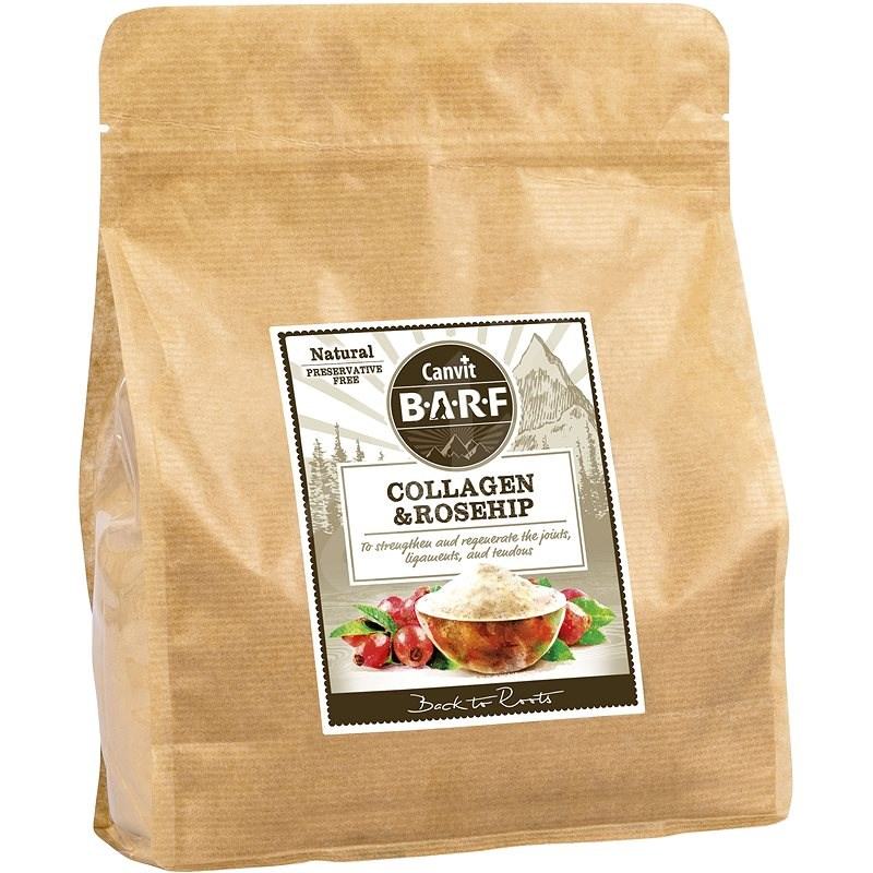 Canvit BARF Collagen and Rosehip 800 g - Doplněk stravy pro psy