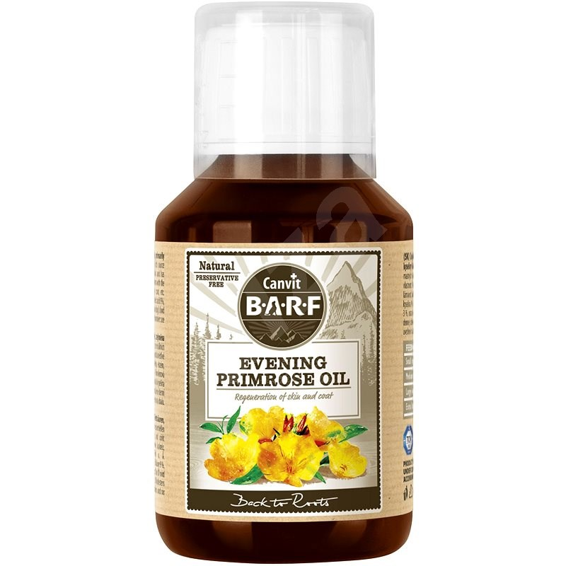 Canvit BARF Evening Primose Oil 100ml - Food supplement for dogs