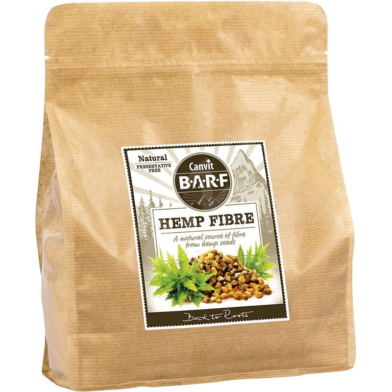 Canvit BARF Hemp Fibre 800g - Food supplement for dogs
