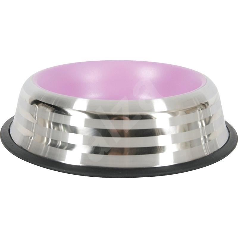 Miska nerez protiskluz pes MERENDA 500ml růžová Zolux - Miska pro psy