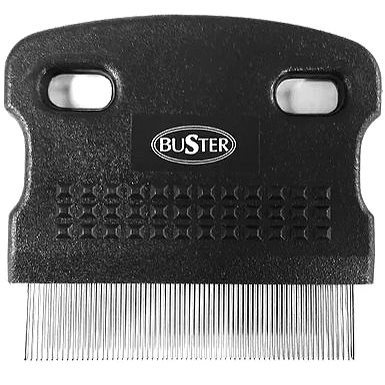 BUSTER Flea  Comb with Metal Teeth - Dog Brush