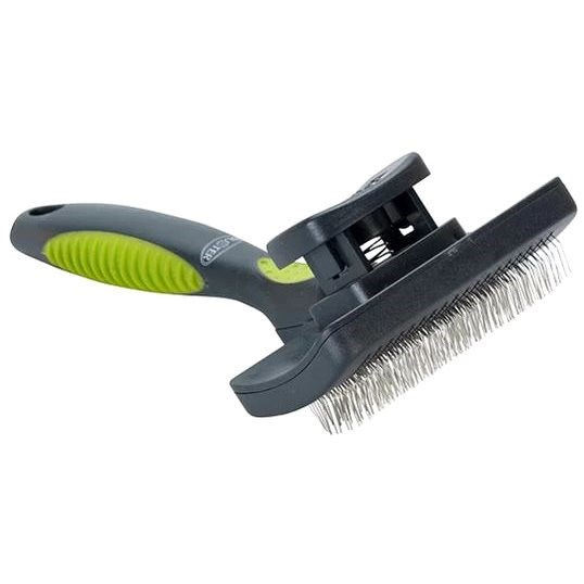 BUSTER Self-cleaning Coarse Hairbrush S - Dog Brush