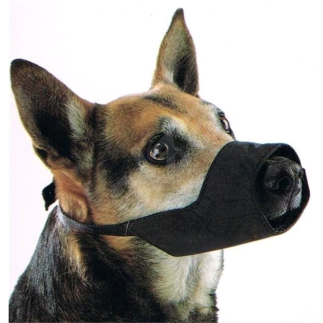 BUSTER Snug Fitting Muzzle, No.4 1pc - Dog Muzzle