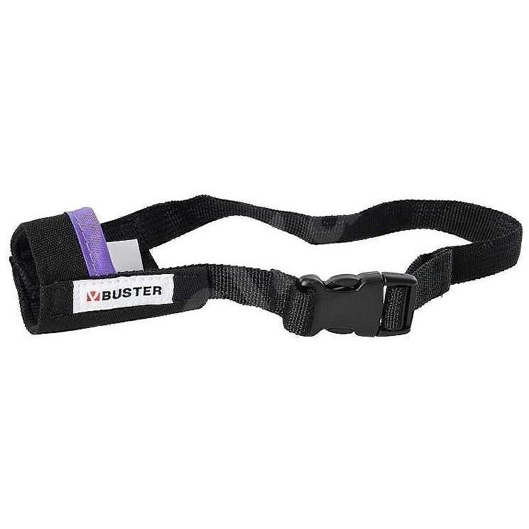 Náhubek fixační pes BUSTER Easy ID S fialový 1ks - Náhubek pro psa