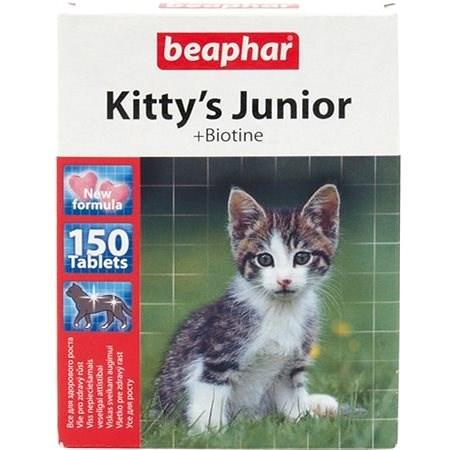 BEAPHAR Pochoutka Kitty´s biotin 150tbl  - Doplněk stravy pro kočky