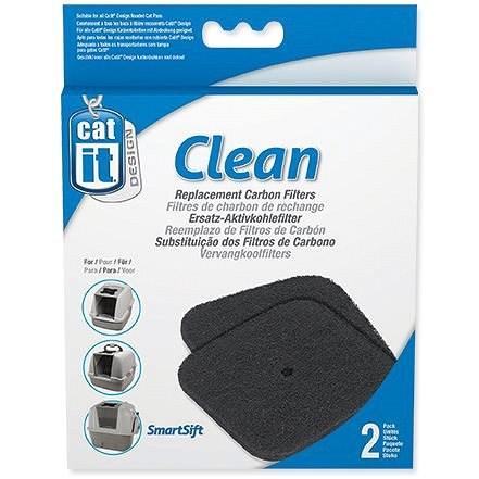 HAGEN filtr pro Toalety CatIt design 2ks - Filtr pro kočičí toalety