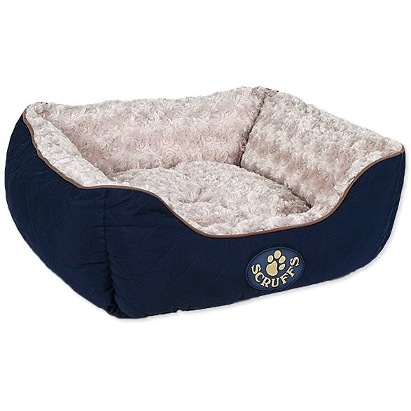 SCRUFFS Wilton box bed S 50×40cm modrý - Pelíšek