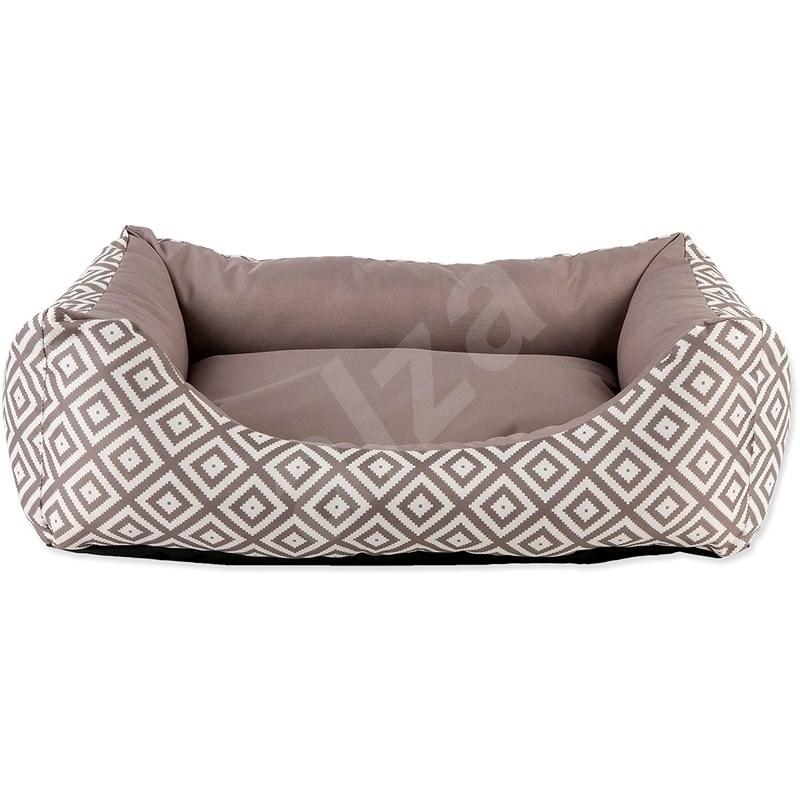 DOG FANTASY Sofa 83×70×20cm etno hnědé - Pelíšek