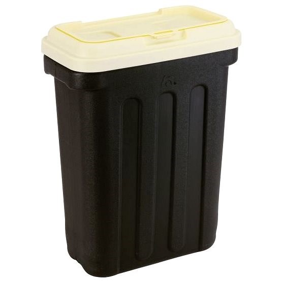 Maelson Box na granule pro 15 kg krmiva - černo-béžový - 41× 25× 56 cm - Barel na granule