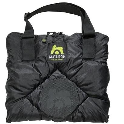 Maelson Cestovní deka + autopotah - černo-béžový - 200 × 150 cm - Deka pro psa do auta