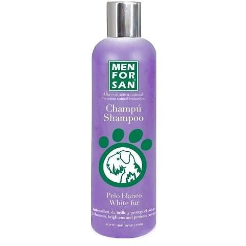 Menforsan White Fur Shampoo 300ml - Dog Shampoo