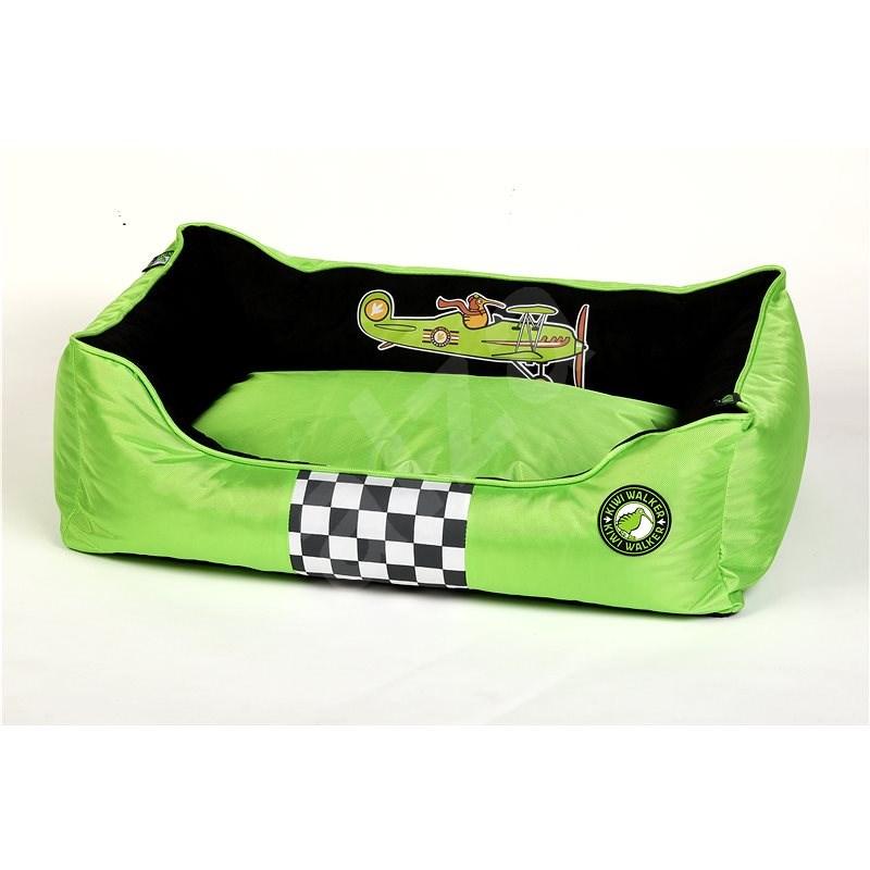 Kiwi Walker Racing Aero pelech z ortopedické pěny, velikost XL, zelený - Pelíšek