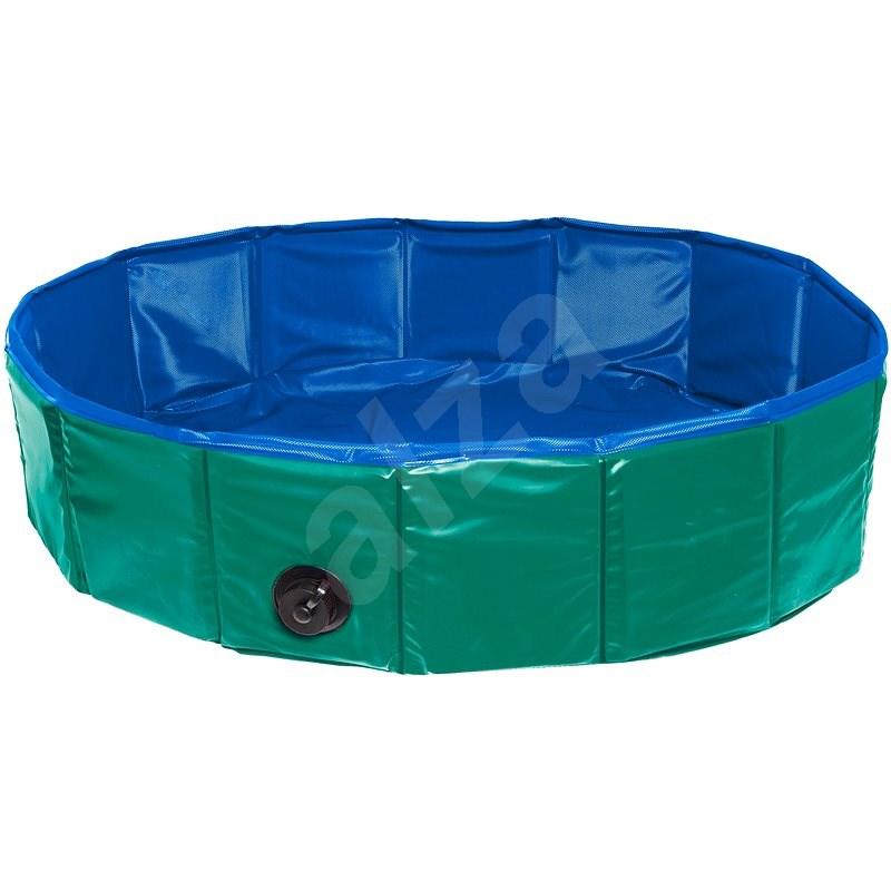 Karlie Skládací bazén pro psy zeleno/modrý 120 × 30 cm - Bazén pro psy