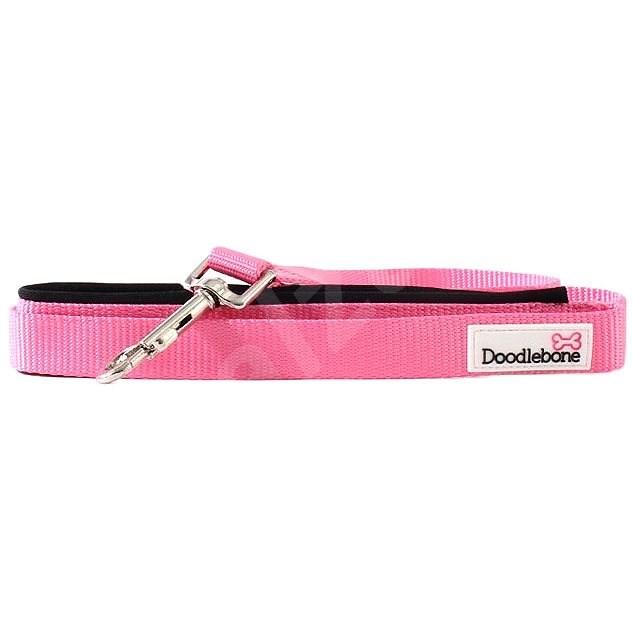 Vodítko Doodlebone Pink S - Vodítko