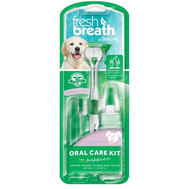 Tropiclean set na čištění zubů Fresh Breath pro štěňata - Prostředek na zuby