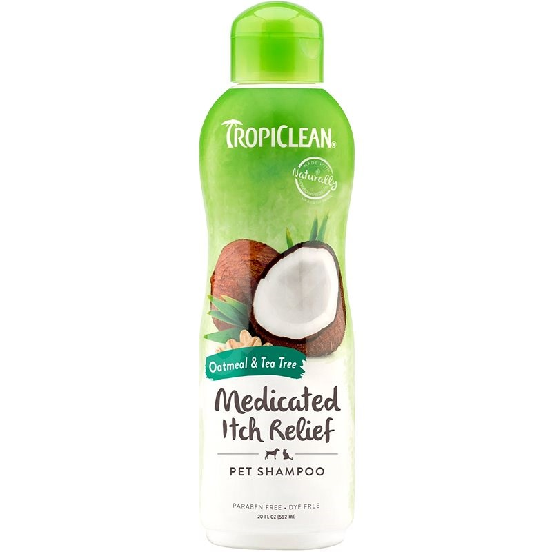 Tropiclean šampon ovesné vločky a čajovník 355 ml - Šampon pro psy