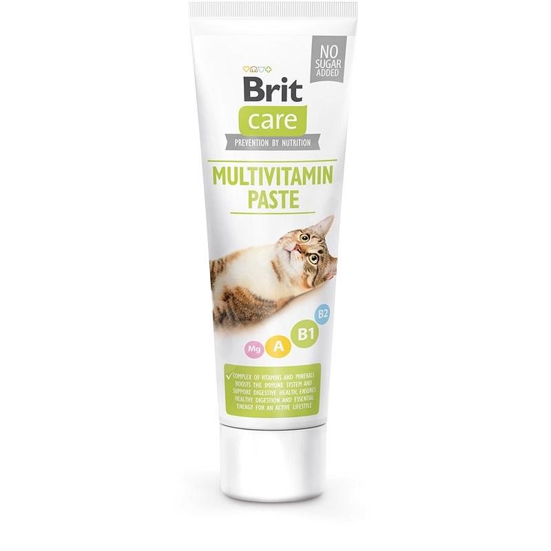 Brit Care Cat Paste Multivitamin 100 g - Doplněk stravy pro kočky