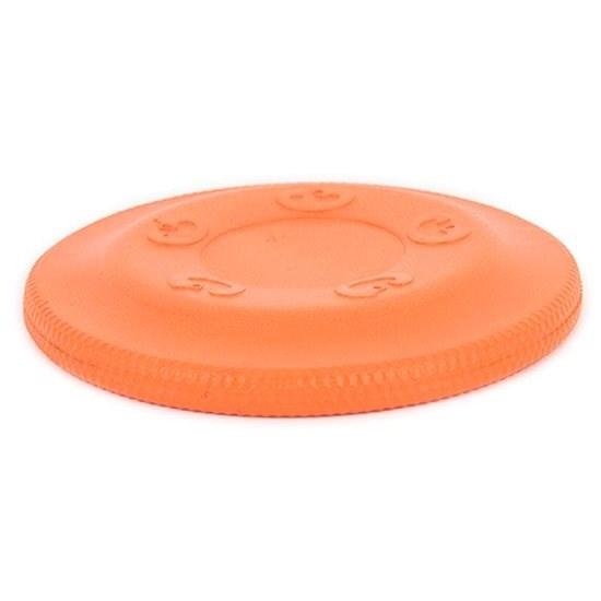 Akinu Aqua Foam Frisbee, Small, Orange - Dog Frisbee