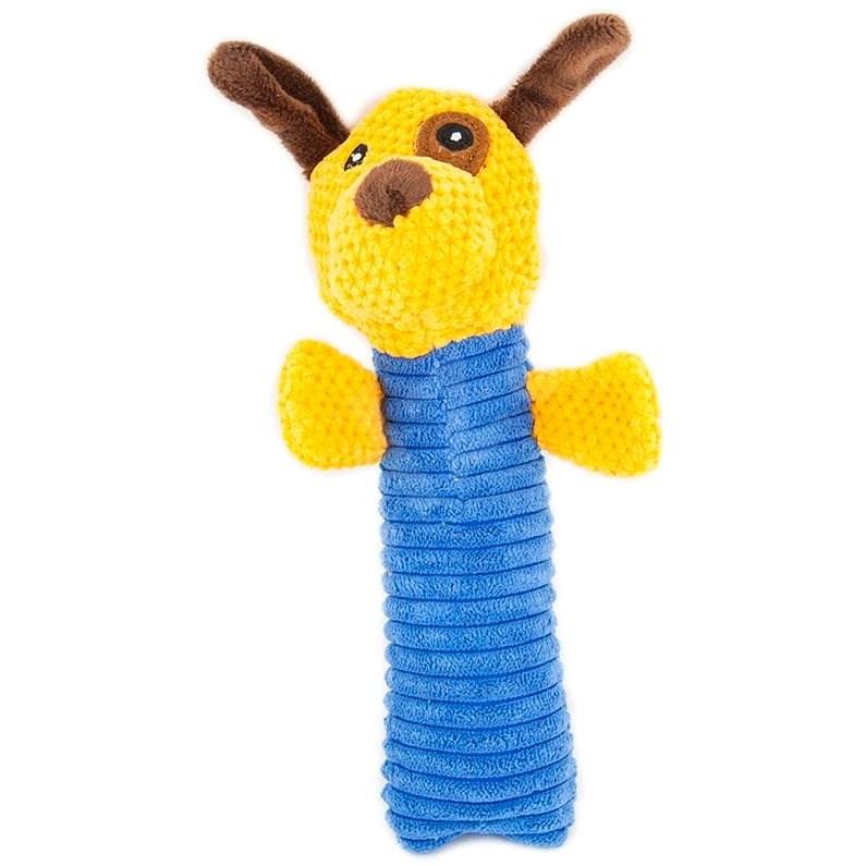 Akinu hračka pískací plyš pro štěňata 19cm pes - Hračka pro psy