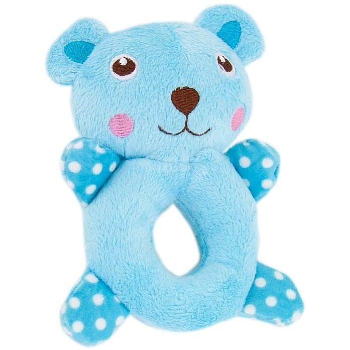 Akinu hračka Mimi plyš pro štěňata 14cm myš - Hračka pro psy