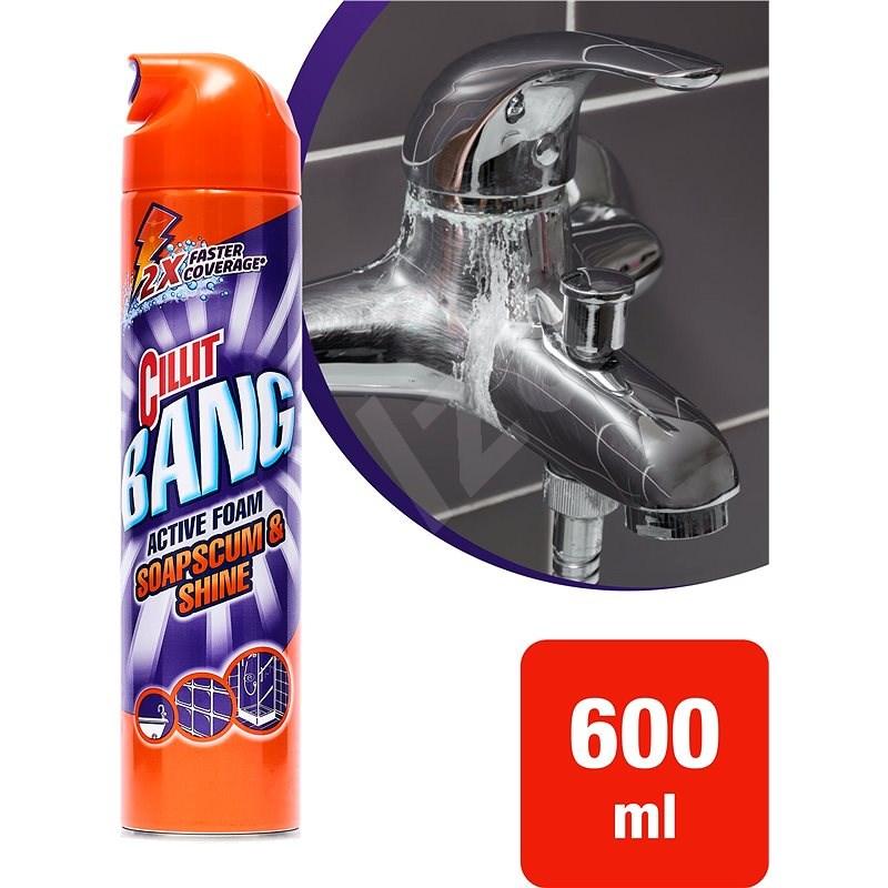 CILLIT BANG Aktivní pěna 600 ml - Čistič koupelen