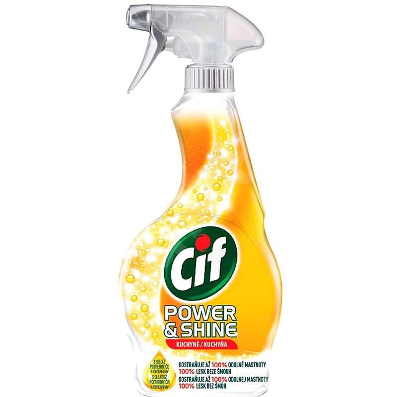 CIF Power & Shine Kuchyň 500 ml - Čisticí prostředek