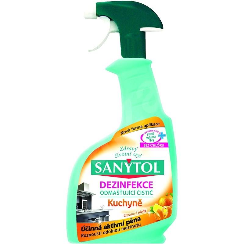 SANYTOL Dezinfekční čistič na kuchyně 500 ml - Čisticí prostředek
