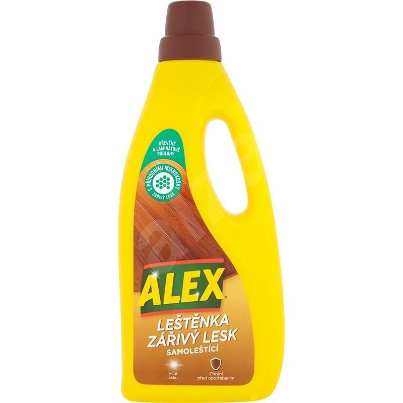 ALEX Leštěnka a zářivý lesk na dřevo a laminát 750 ml - Čisticí prostředek