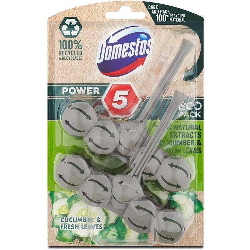 DOMESTOS Power 5 Cucumber 2 × 55 g - WC blok