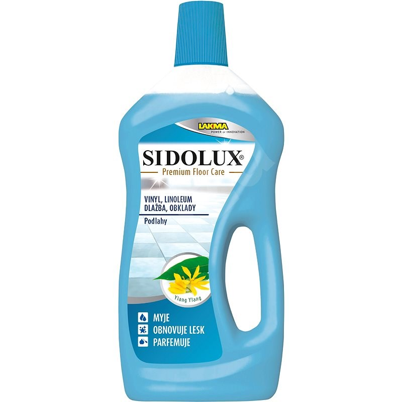 SIDOLUX Premium Floor Care Ylang Ylang vinyl a linoleum 750 ml - Čistič na podlahy