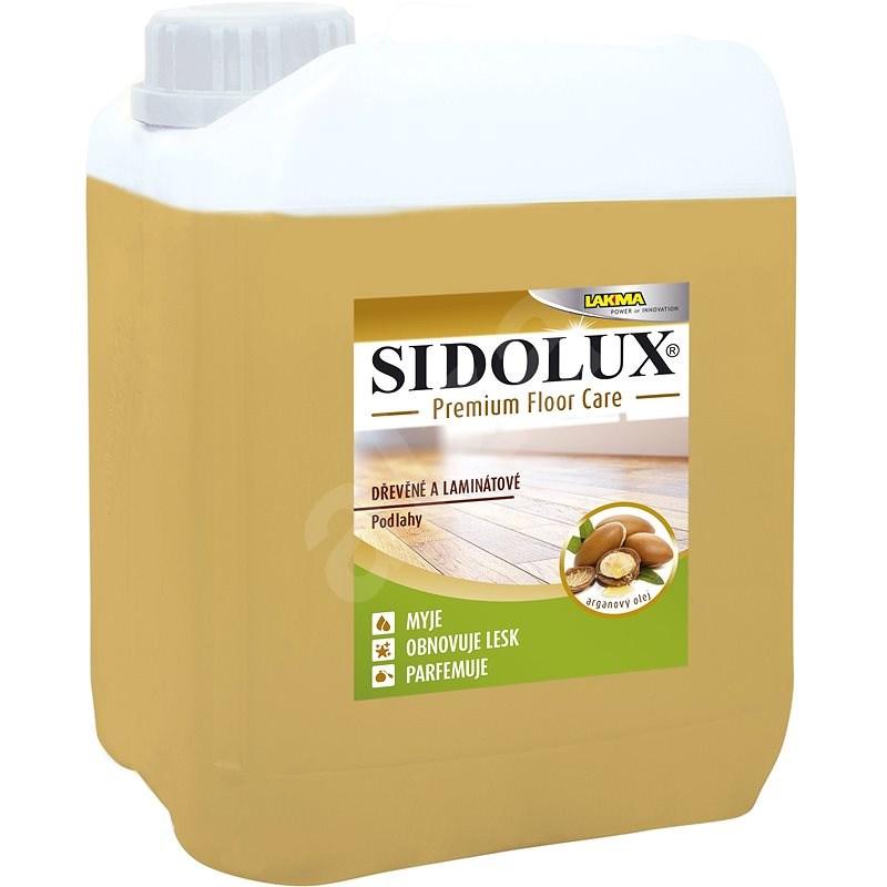 SIDOLUX Premium Floor Care s Arganovým olejem dřevo a laminát 5 l - Čisticí prostředek