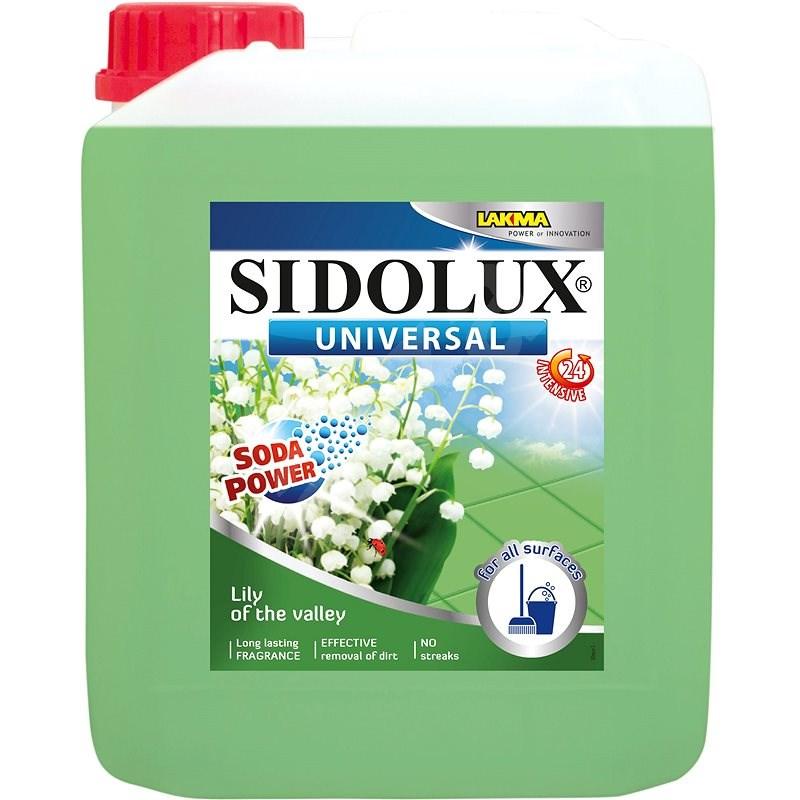 SIDOLUX Universal Soda Power Lilly Of The Valley 5 l - Mycí prostředek