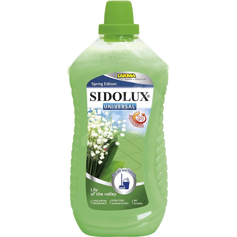 SIDOLUX Universal Soda Power Lilly Of The Valley 1 l - Čisticí prostředek