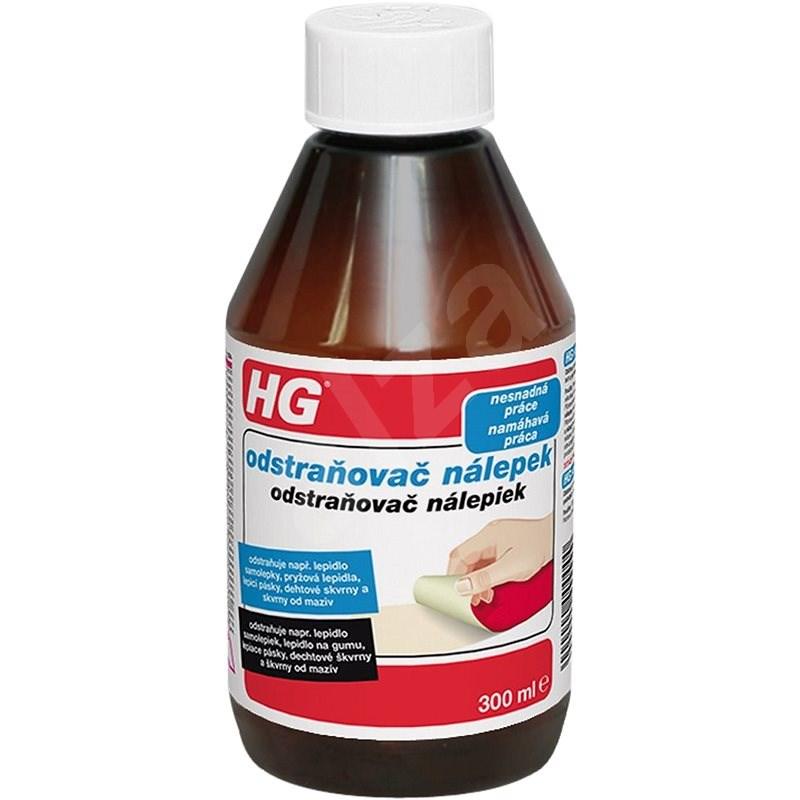 HG Odstraňovač nálepek 300 ml - Čisticí prostředek