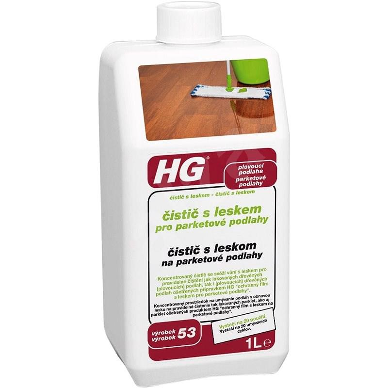 HG Čistič s leskem pro parketové podlahy 1 l - Čisticí prostředek