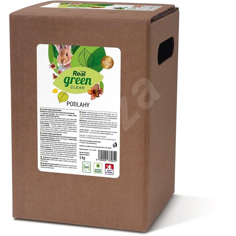 REAL GREEN PVKpodlahy 5 kg - Eko čisticí prostředek