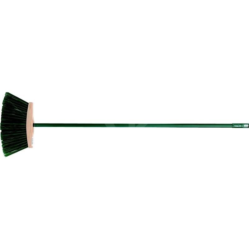 Smeták 250 mm PVC dlouhé štětiny s násadou - Smeták