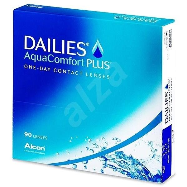 Dailies AquaComfort Plus (90 čoček) - Kontaktní čočky