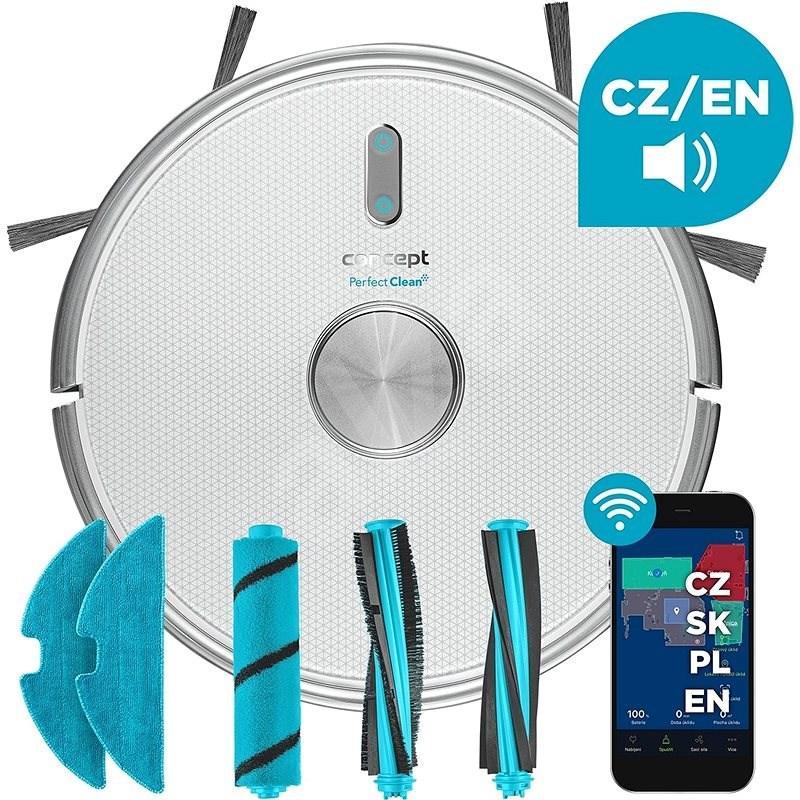 Concept VR3120 PERFECT CLEAN 2v1 - Robotický vysavač