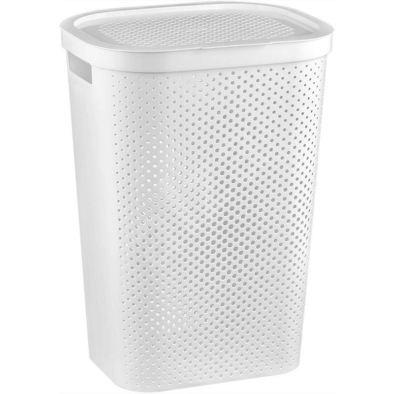 Curver INFINITY, 59L - White Laundry Basket - Laundry Basket