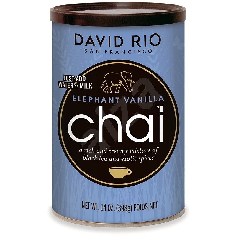 David Rio Chai Elephant Vanilla 398g - Nápoj