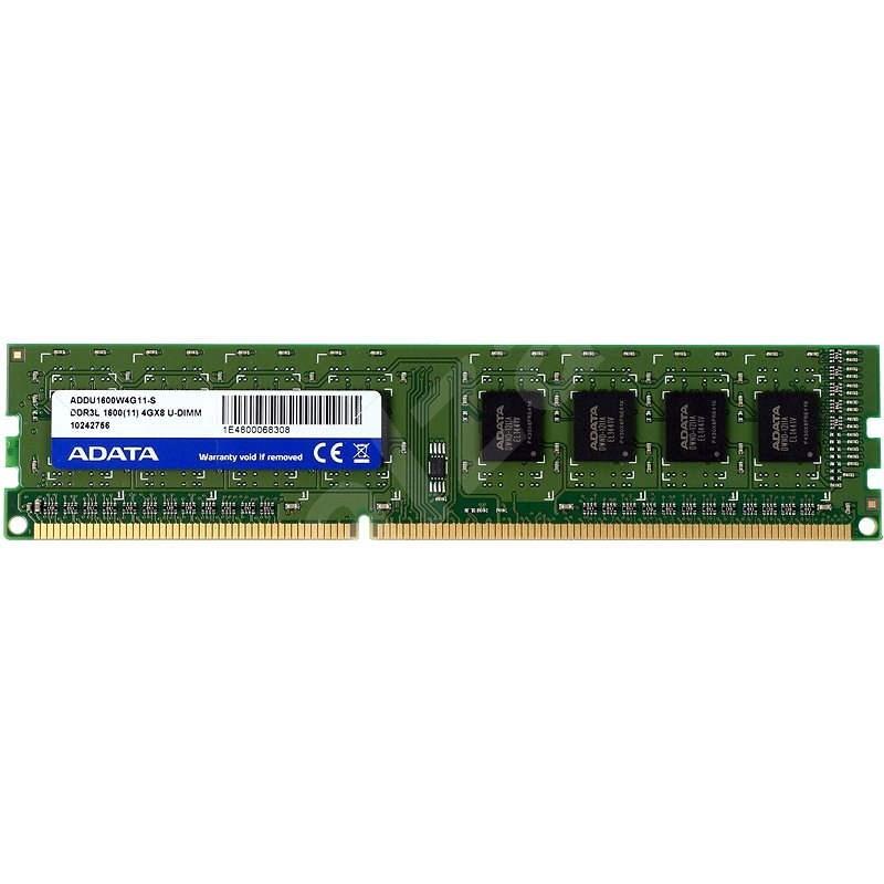 ADATA 4GB DDR3 1600MHz CL11 - Operační paměť