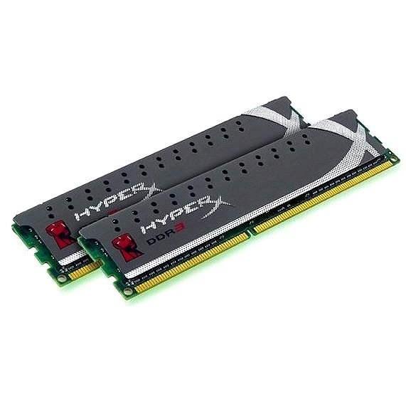 Kingston 8GB KIT DDR3 1600MHz CL9 HyperX X2 Grey Series - Operační paměť