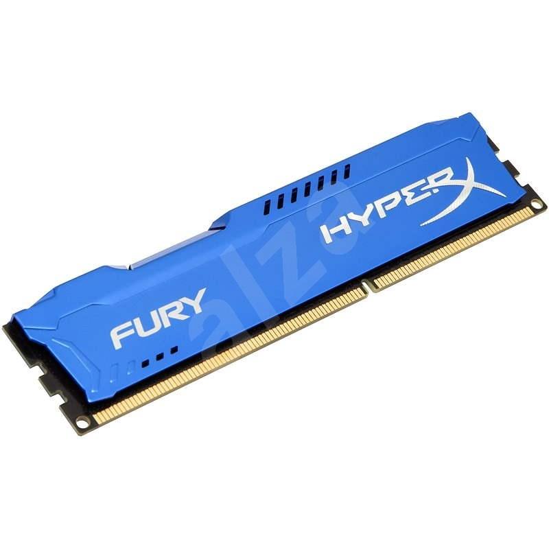 HyperX 8GB DDR3 1333MHz CL9 Fury Blue Series Single Rank - Operační paměť