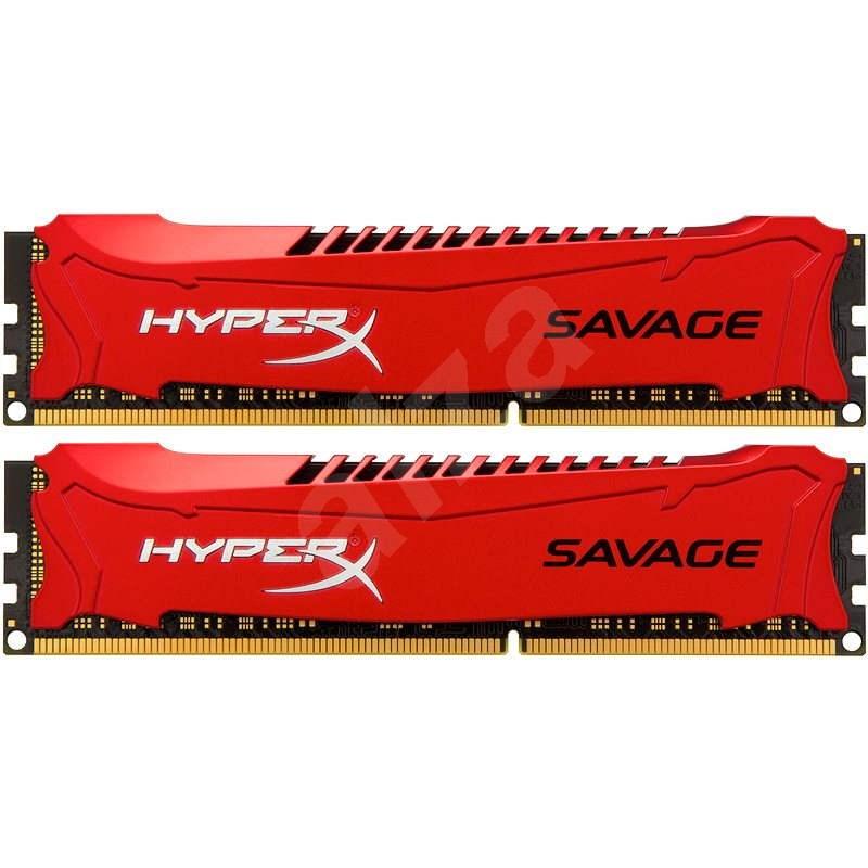 Kingston 8GB KIT DDR3 1866MHz CL9 HyperX Savage Series - Operační paměť