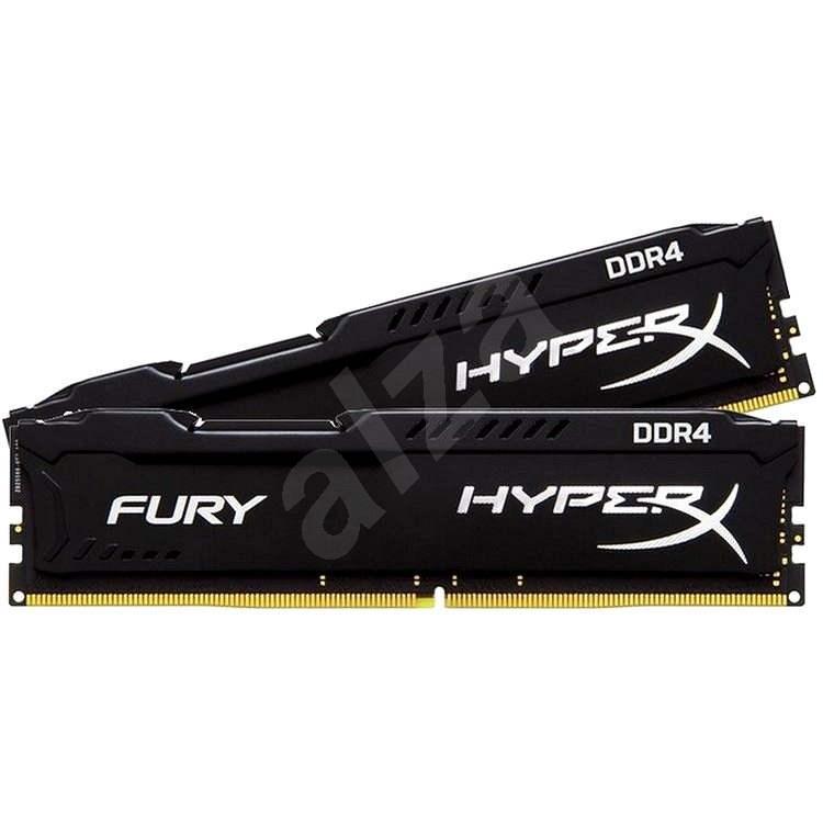 HyperX 16GB KIT DDR4 2133MHz CL14 Fury Black Series - Operační paměť