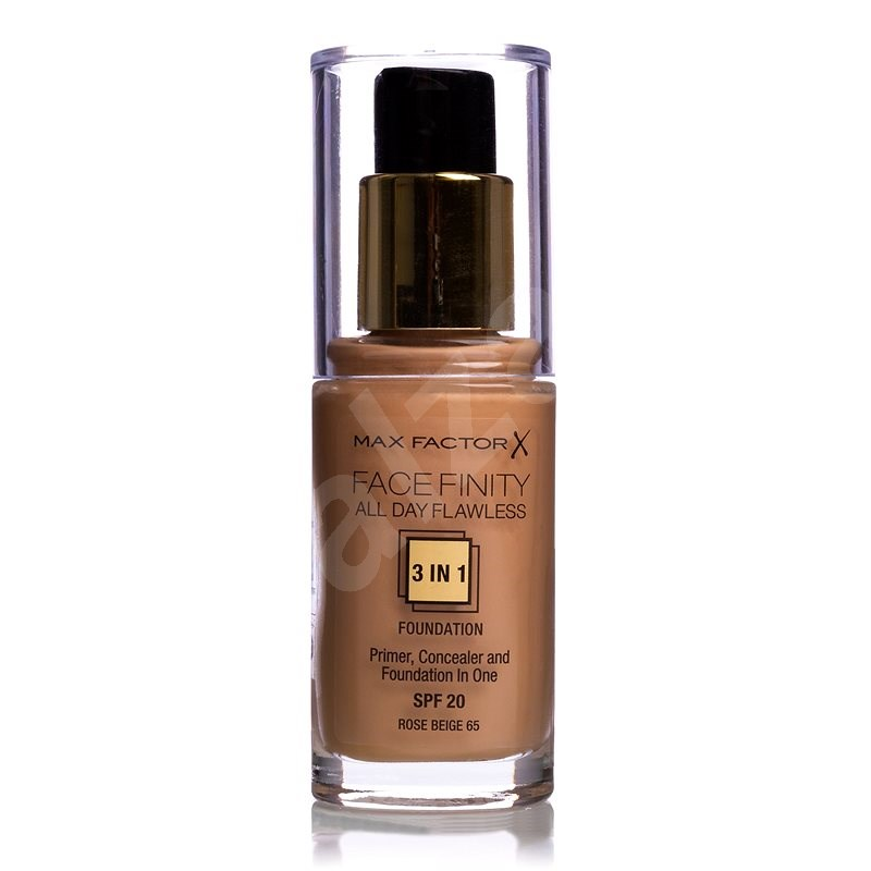 MAX FACTOR Facefinity All Day Flawless 3in1 Foundation SPF20 80 Bronze 30 ml - Make-up