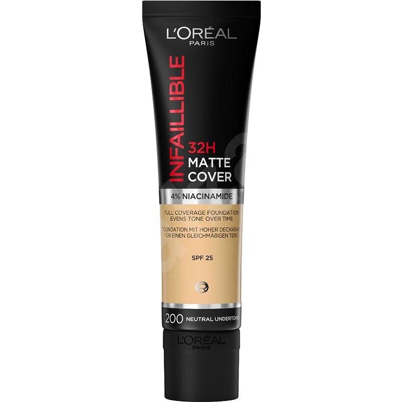 ĽORÉAL PARIS Infaillible 24H Matte Cover 200 Golden Sand 35 ml - Make-up